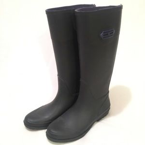 Black Tommy Hilfiger Rain Boots